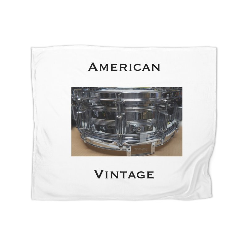 American Vintage Home Fleece Blanket Blanket by EdHartmanMusic Swag Shop!
