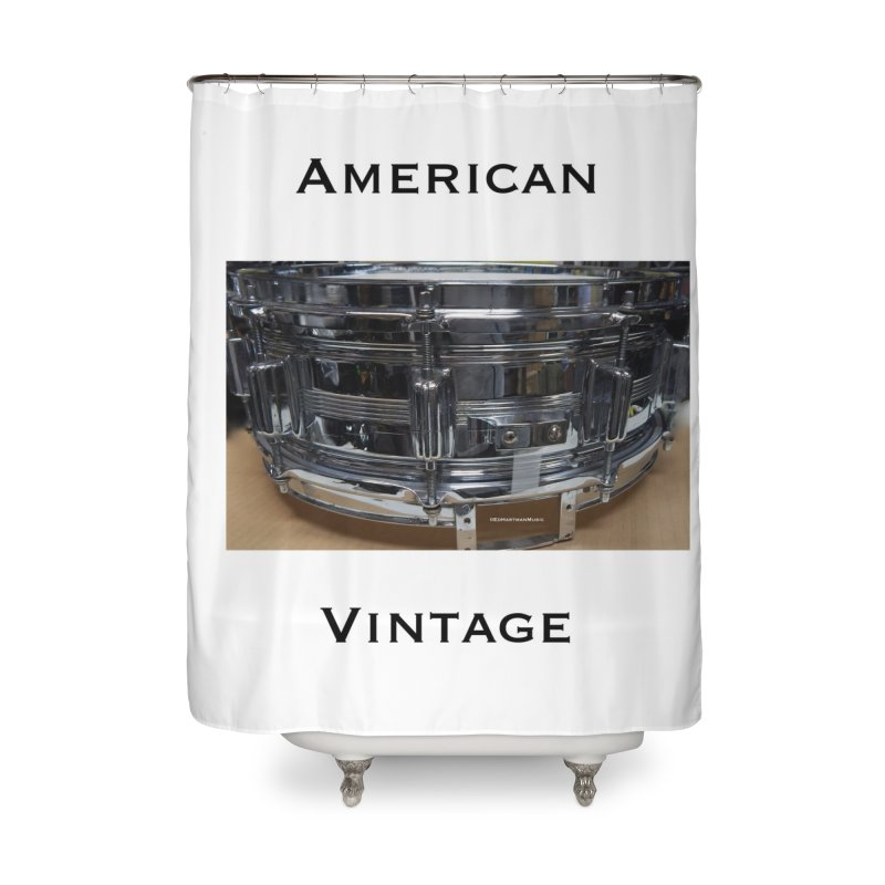 American Vintage Home Shower Curtain by EdHartmanMusic Swag Shop!