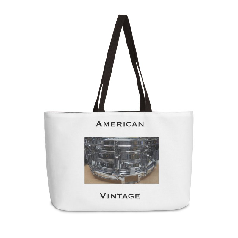 American Vintage Accessories Weekender Bag Bag by EdHartmanMusic Swag Shop!