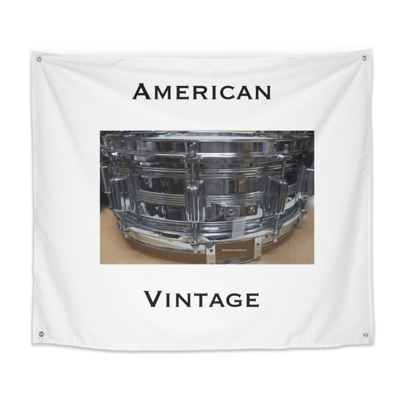 American Vintage Home Tapestry by EdHartmanMusic Swag Shop!
