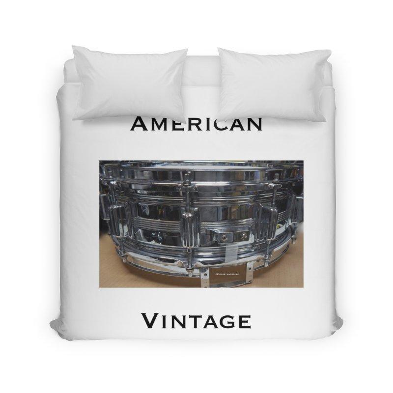 American Vintage Home Duvet by EdHartmanMusic Swag Shop!