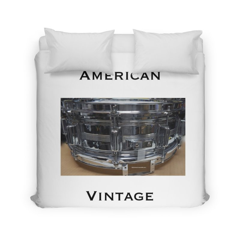 American Vintage Home Duvet by EdHartmanMusic Swag Shop!