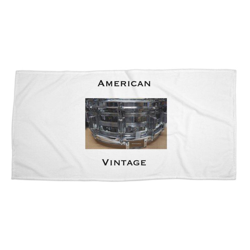 American Vintage Accessories Beach Towel by EdHartmanMusic Swag Shop!