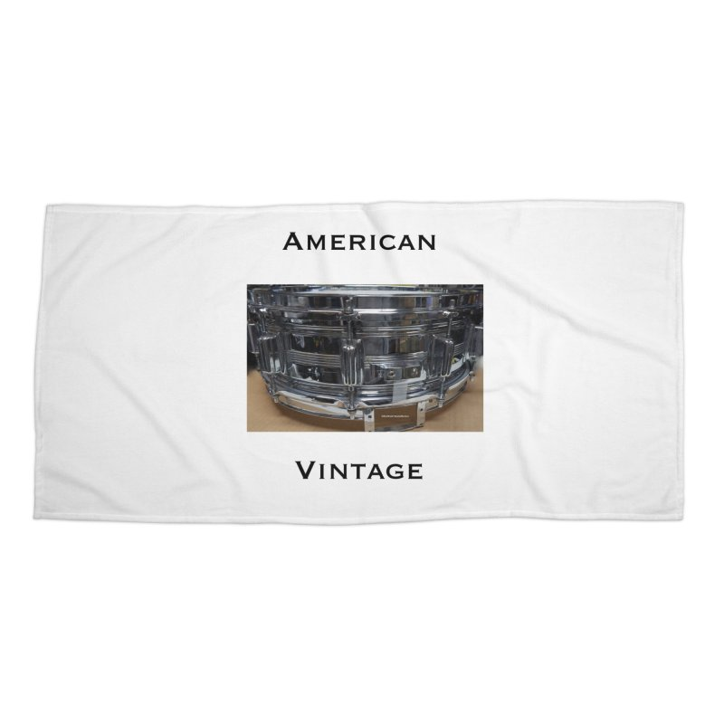 American Vintage Accessories Beach Towel by EdHartmanMusic Swag Shop!