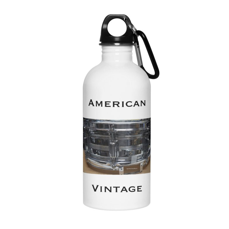 American Vintage Accessories Water Bottle by EdHartmanMusic Swag Shop!
