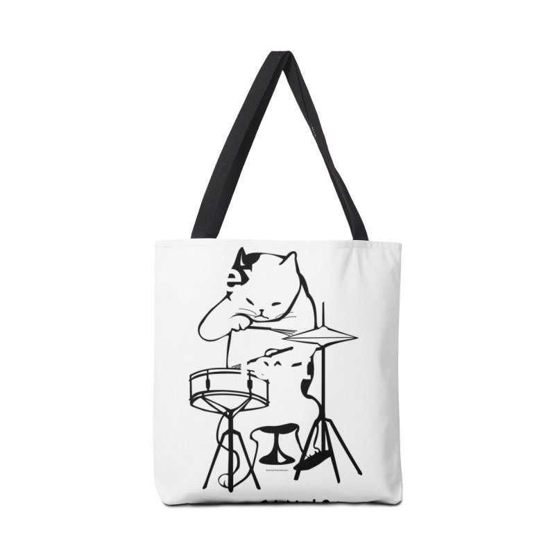 THIS CAT CAN SWING! Accessories Bag by EdHartmanMusic Swag Shop!