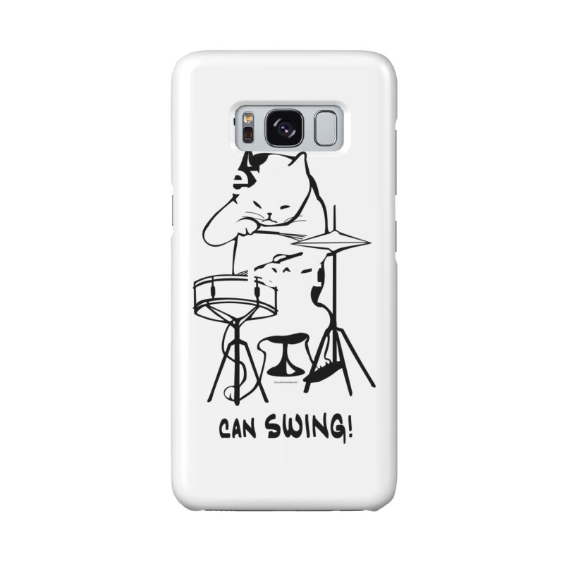 THIS CAT CAN SWING! Accessories Phone Case by EdHartmanMusic Swag Shop!