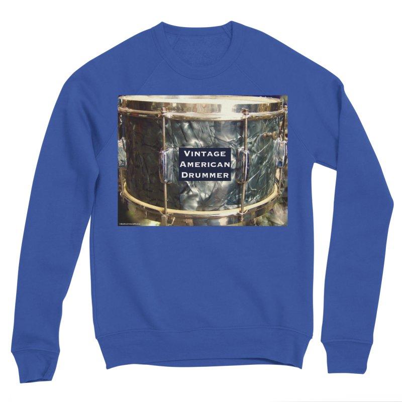 Vintage American Drummer Men's Sweatshirt by EdHartmanMusic Swag Shop!