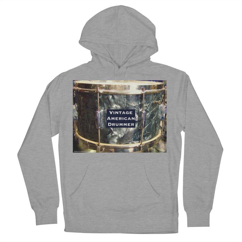 Vintage American Drummer Women's Pullover Hoody by EdHartmanMusic Swag Shop!