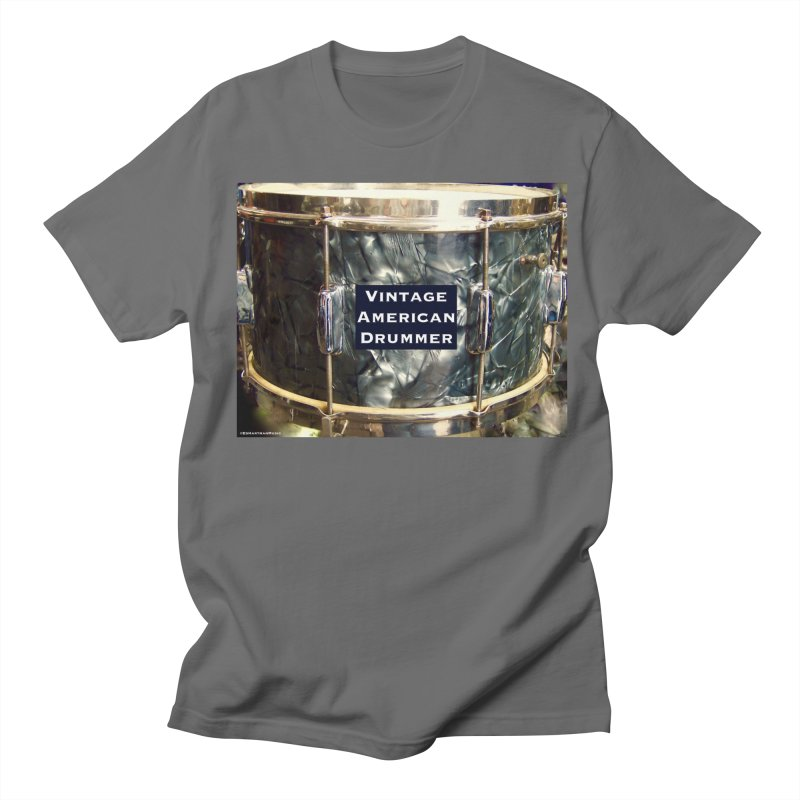 Vintage American Drummer Women's T-Shirt by EdHartmanMusic Swag Shop!