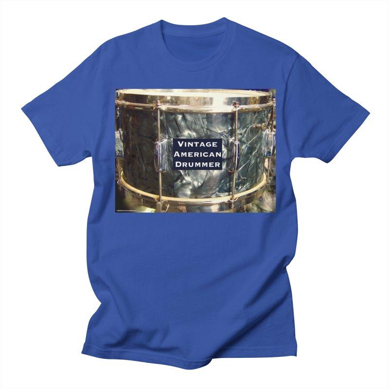 Vintage American Drummer Men's T-Shirt by EdHartmanMusic Swag Shop!