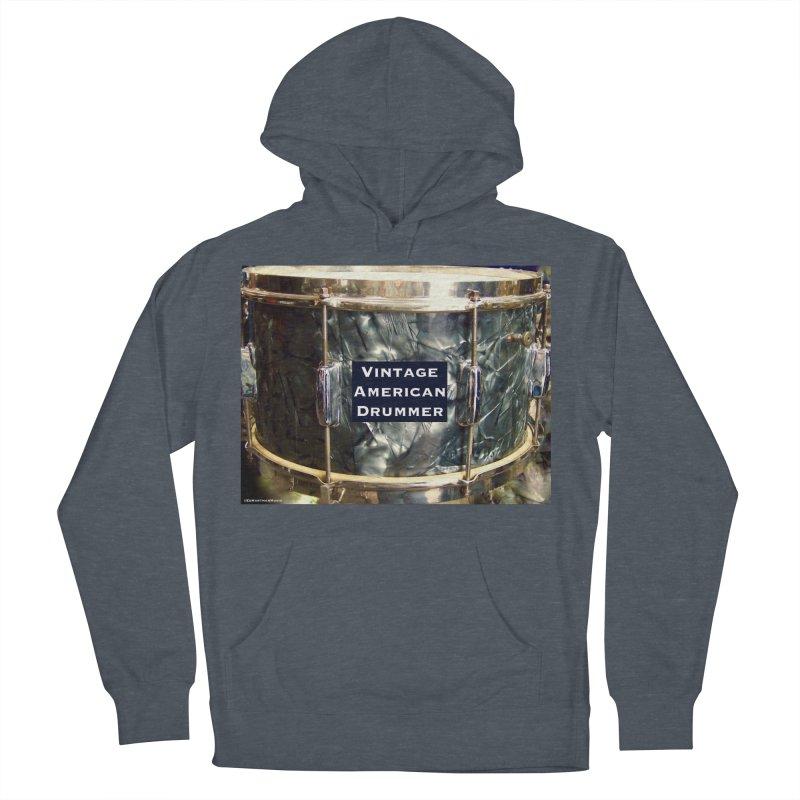 Vintage American Drummer Men's Pullover Hoody by EdHartmanMusic Swag Shop!