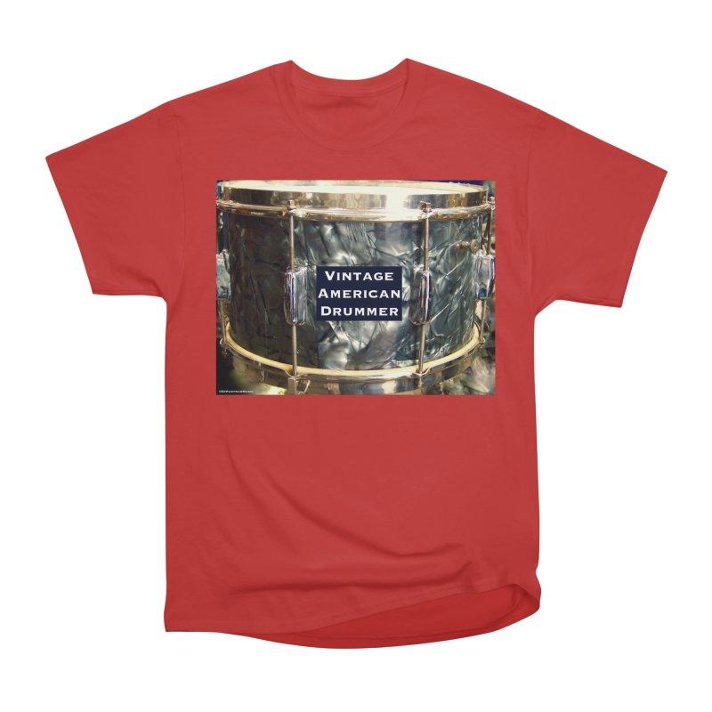Vintage American Drummer Men's  by EdHartmanMusic Swag Shop!