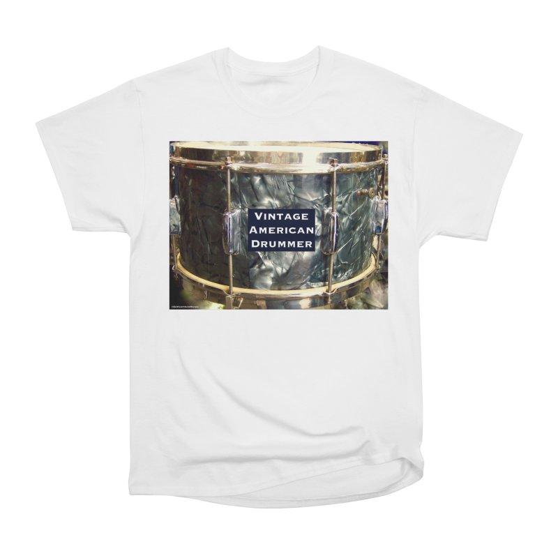 Vintage American Drummer Women's Classic Unisex T-Shirt by EdHartmanMusic Swag Shop!