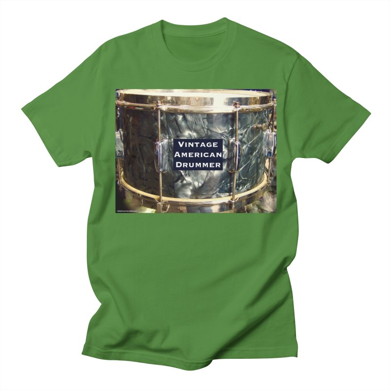 Vintage American Drummer Men's T-Shirt by EdHartmanMusic Swag Shop!