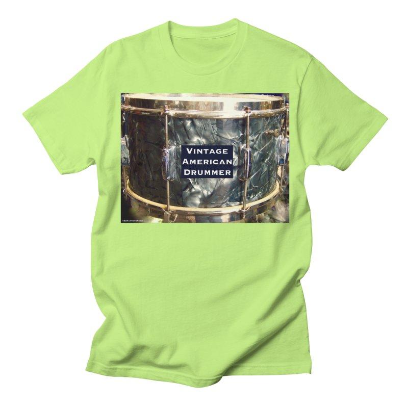 Vintage American Drummer Women's Regular Unisex T-Shirt by EdHartmanMusic Swag Shop!