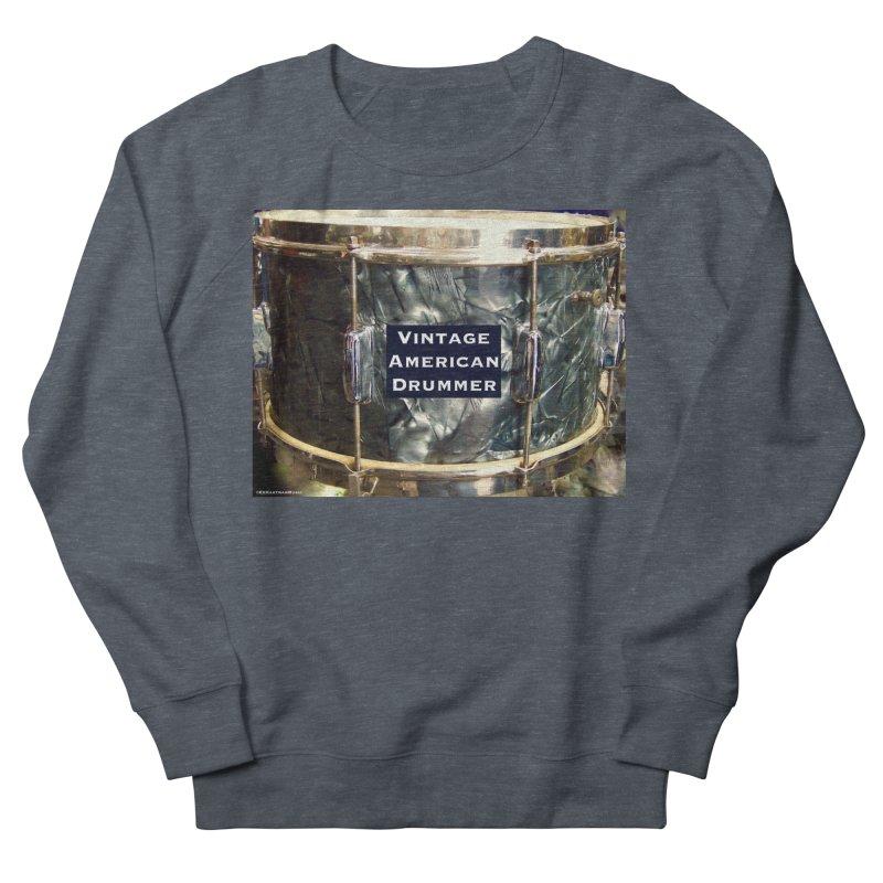 Vintage American Drummer Men's French Terry Sweatshirt by EdHartmanMusic Swag Shop!