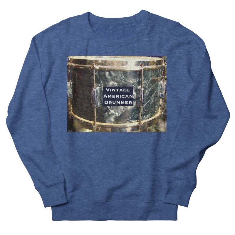 Vintage American Drummer Men's Sweatshirt by EdHartmanMusic Swag Shop!
