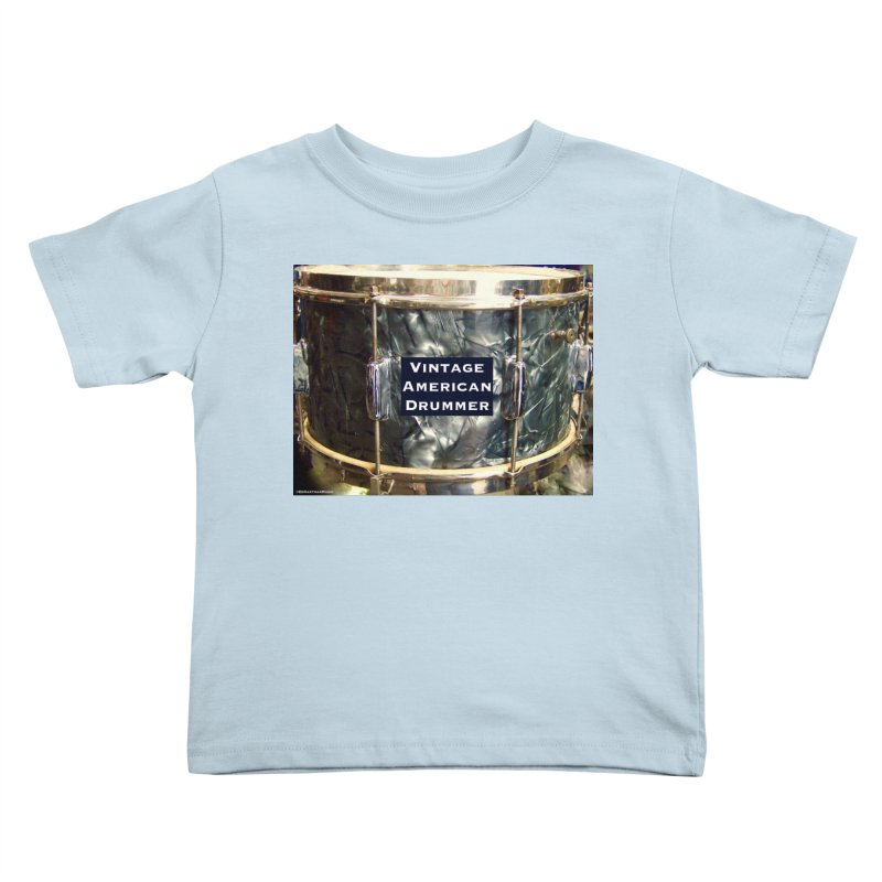 Vintage American Drummer Kids Toddler T-Shirt by EdHartmanMusic Swag Shop!