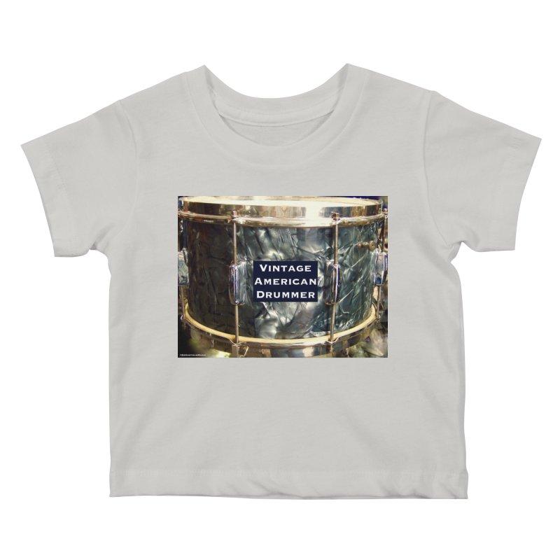 Vintage American Drummer Kids Baby T-Shirt by EdHartmanMusic Swag Shop!