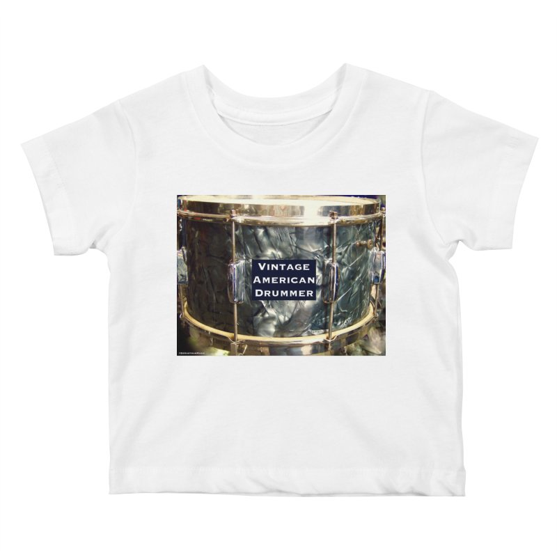 Vintage American Drummer Kids Baby T-Shirt by EdHartmanMusic Swag Shop!