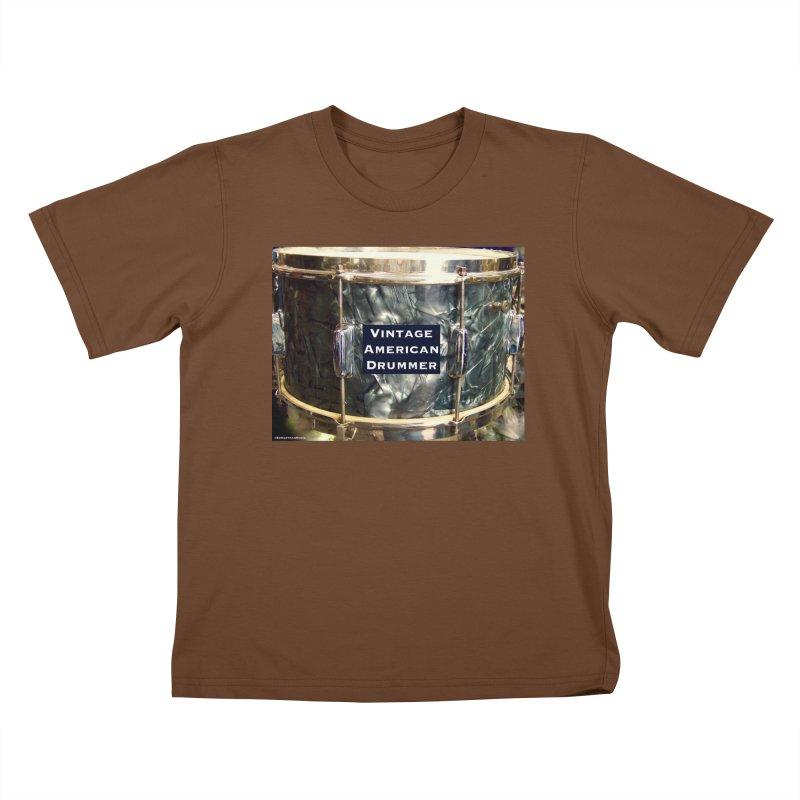 Vintage American Drummer Kids T-Shirt by EdHartmanMusic Swag Shop!