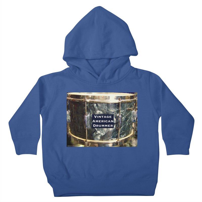 Vintage American Drummer Kids Toddler Pullover Hoody by EdHartmanMusic Swag Shop!