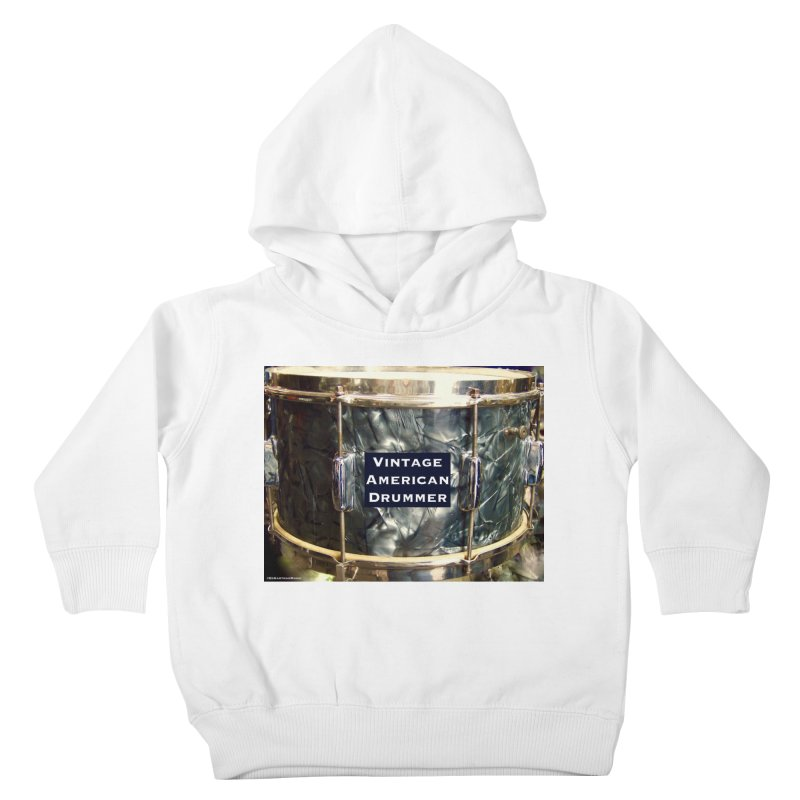 Vintage American Drummer Kids Toddler Pullover Hoody by EdHartmanMusic Swag Shop!