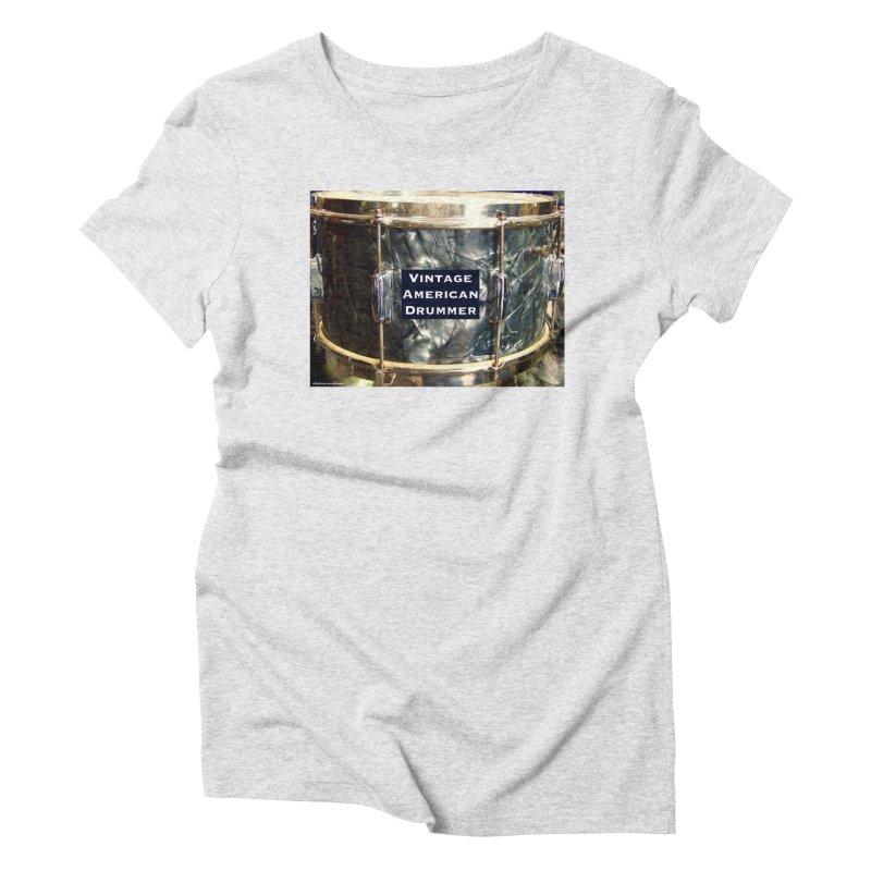 Vintage American Drummer Women's T-Shirt by EdHartmanMusic Swag Shop!