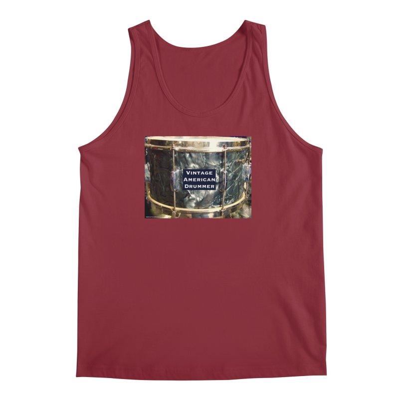 Vintage American Drummer Men's Tank by EdHartmanMusic Swag Shop!