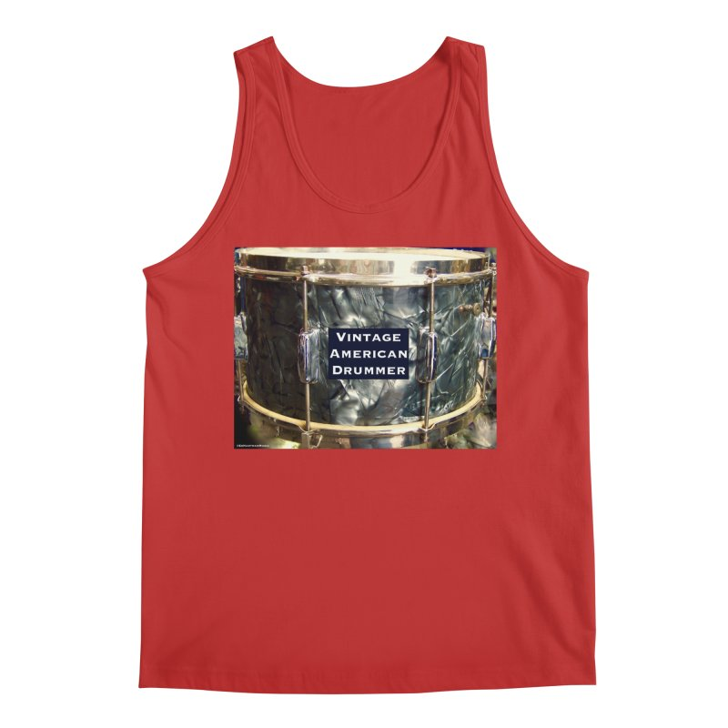 Vintage American Drummer Men's Regular Tank by EdHartmanMusic Swag Shop!