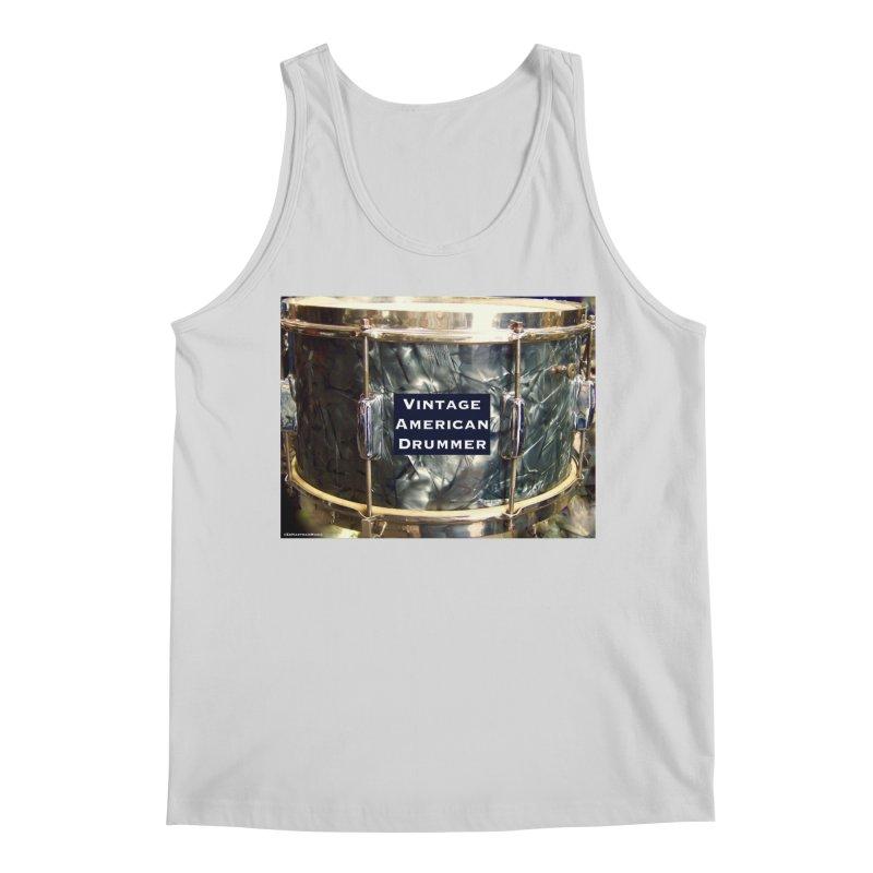 Vintage American Drummer Men's Regular Tank by EdHartmanMusic Swag Shop!
