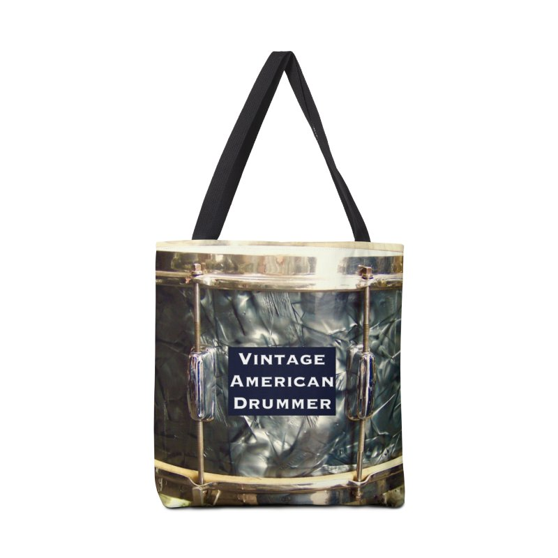 Vintage American Drummer Accessories Tote Bag Bag by EdHartmanMusic Swag Shop!