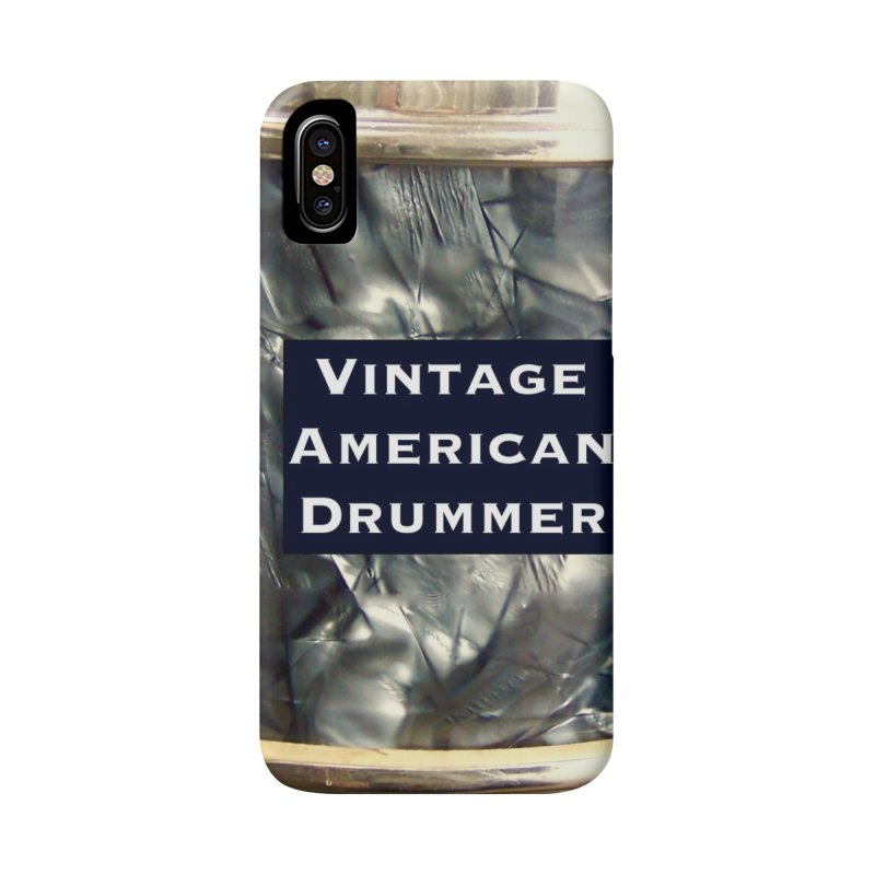 Vintage American Drummer Accessories Phone Case by EdHartmanMusic Swag Shop!