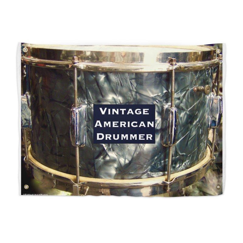 Vintage American Drummer Home Tapestry by EdHartmanMusic Swag Shop!