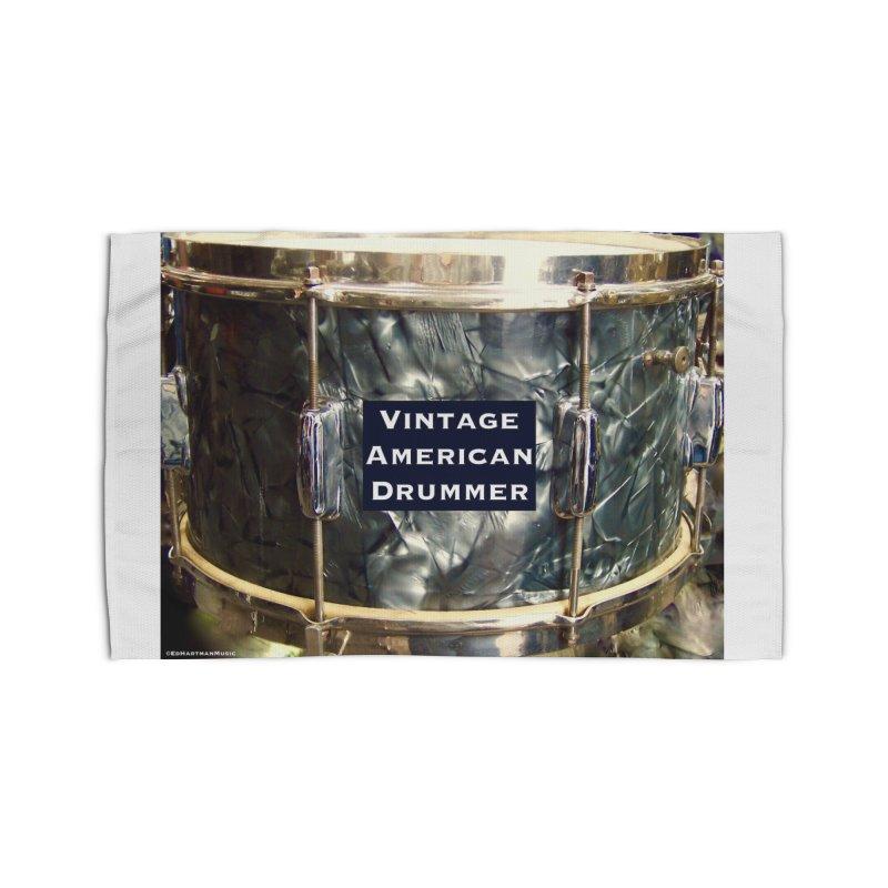 Vintage American Drummer Home Rug by EdHartmanMusic Swag Shop!