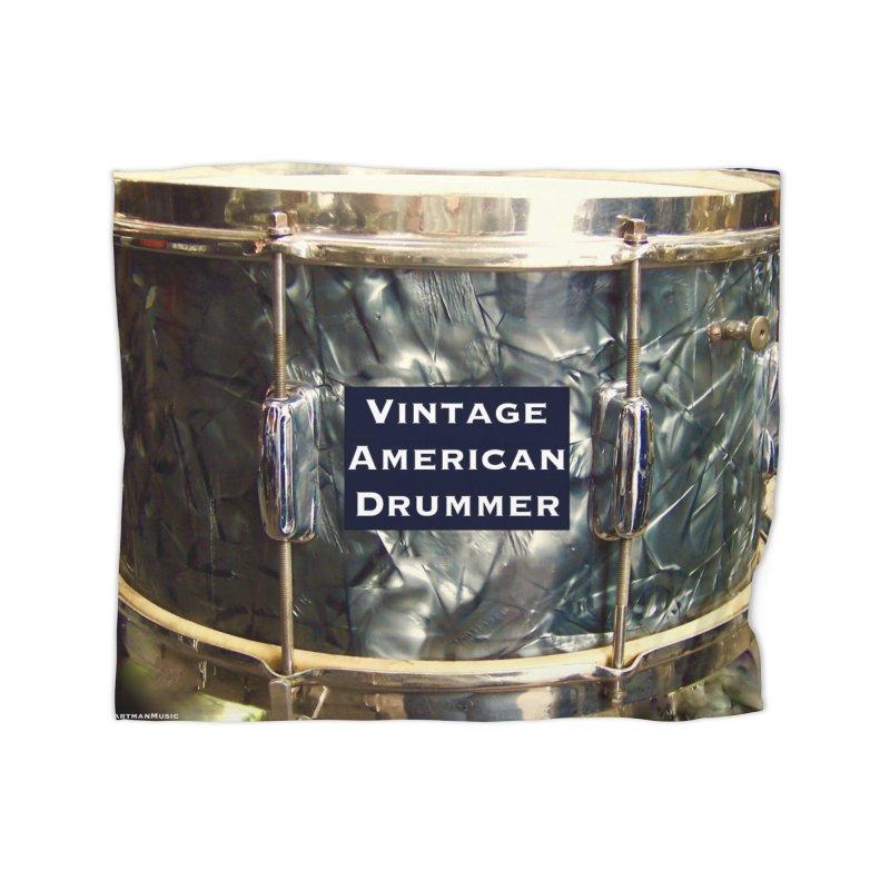 Vintage American Drummer Home Blanket by EdHartmanMusic Swag Shop!