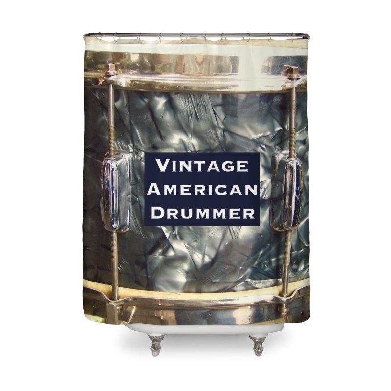Vintage American Drummer Home Shower Curtain by EdHartmanMusic Swag Shop!