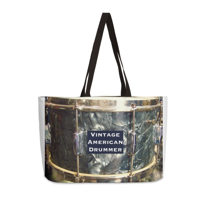 Vintage American Drummer Accessories Bag by EdHartmanMusic Swag Shop!