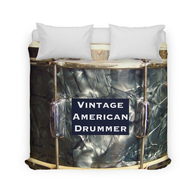 Vintage American Drummer Home Duvet by EdHartmanMusic Swag Shop!