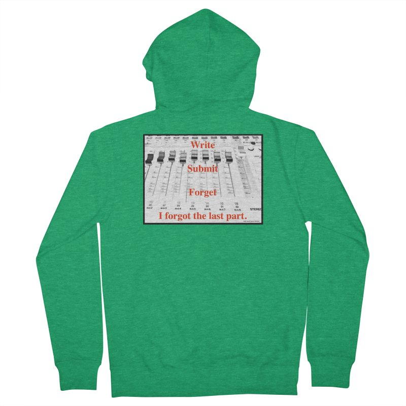 Write Repeat Forget I Forgot Women's Zip-Up Hoody by EdHartmanMusic Swag Shop!