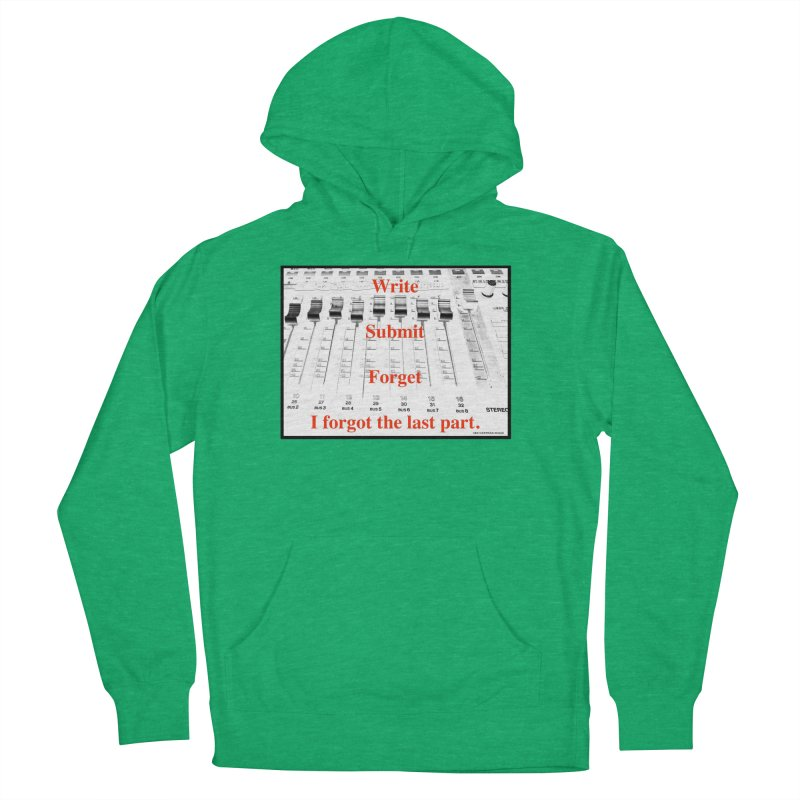 Write Repeat Forget I Forgot Men's French Terry Pullover Hoody by EdHartmanMusic Swag Shop!