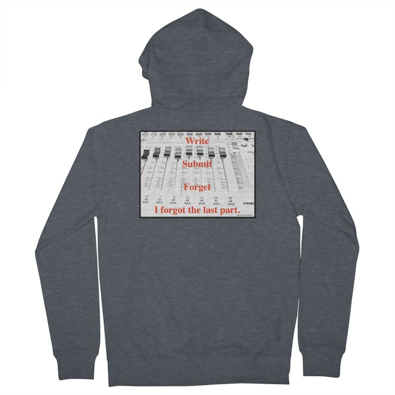 Write Repeat Forget I Forgot Men's Zip-Up Hoody by EdHartmanMusic Swag Shop!