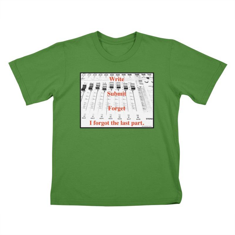Write Repeat Forget I Forgot Kids T-Shirt by EdHartmanMusic Swag Shop!