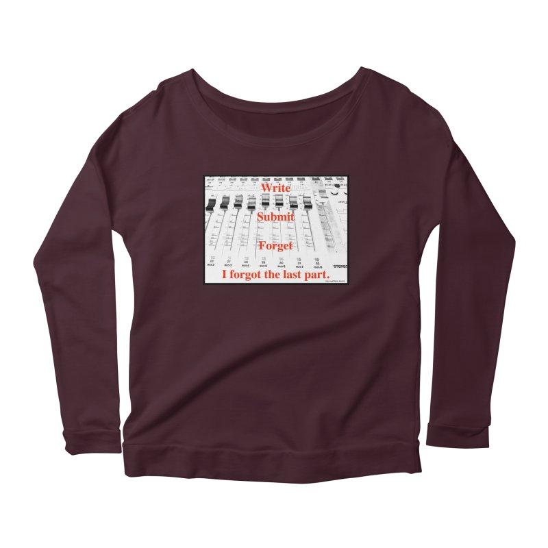 Write Repeat Forget I Forgot Women's Longsleeve T-Shirt by EdHartmanMusic Swag Shop!