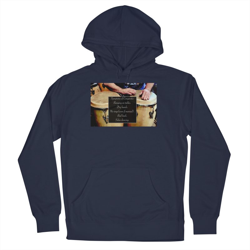 Congavitis Men's Pullover Hoody by EdHartmanMusic Swag Shop!