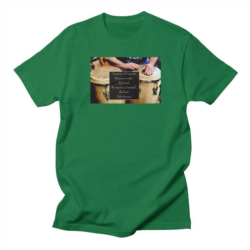 Congavitis Men's T-Shirt by EdHartmanMusic Swag Shop!