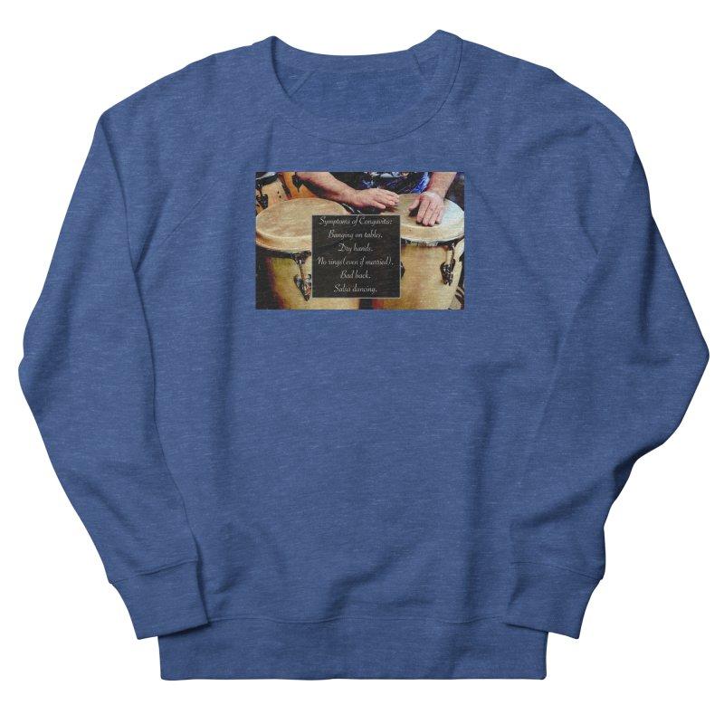 Congavitis Women's Sweatshirt by EdHartmanMusic Swag Shop!