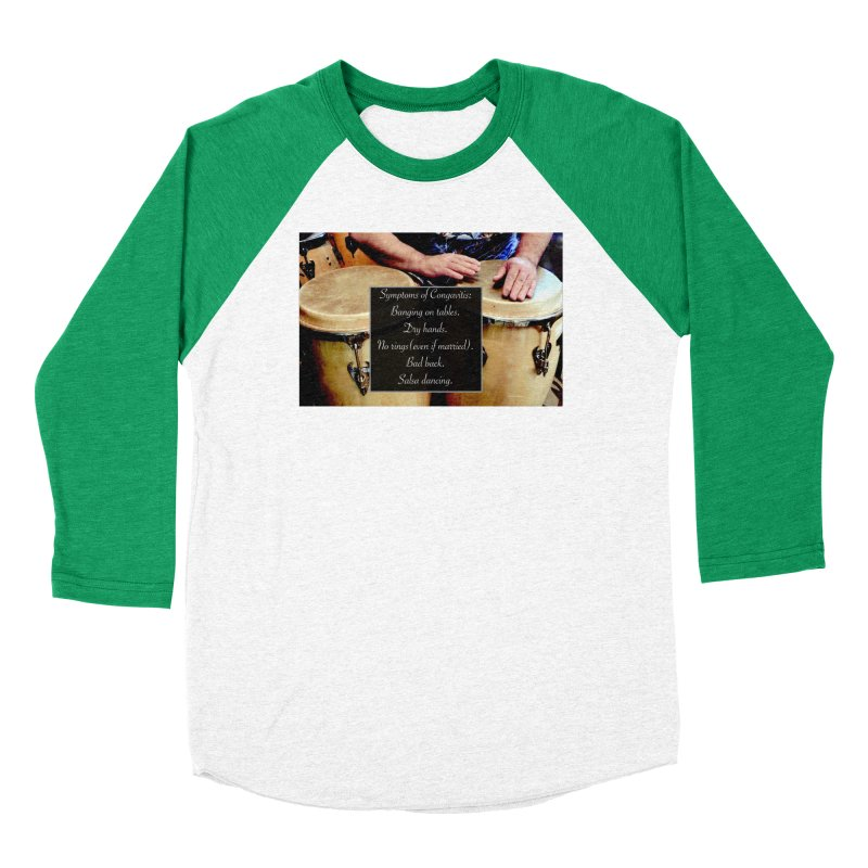 Congavitis Women's Longsleeve T-Shirt by EdHartmanMusic Swag Shop!