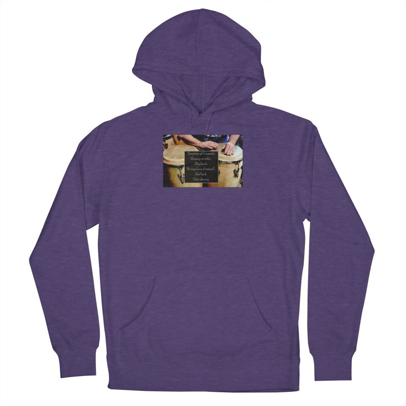 Congavitis Women's French Terry Pullover Hoody by EdHartmanMusic Swag Shop!